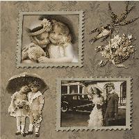 Vintage Stamp Frames