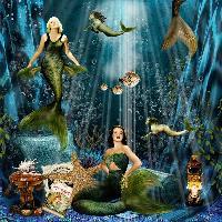 Mermaids Relaxing