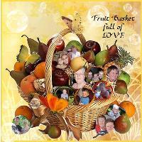 FRUIT BASKET full of LOVE