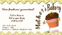 ~ Mother's Bakery Card ~
