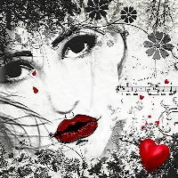 Black White Red...Love Hurts
