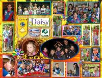 Girl Scout Daisy Troup Collage