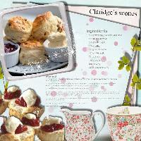 traditional english cream tea scones