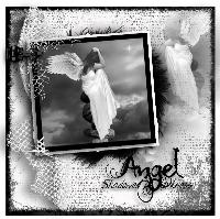 Angel Shadowed by Darkness