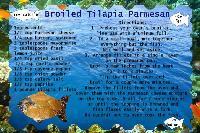 recipe sharing - broiled tilapia parmesan