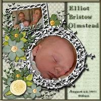 Welcome Elliott!