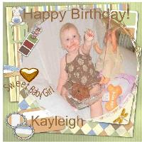 Happy Birthday Kayleigh!!