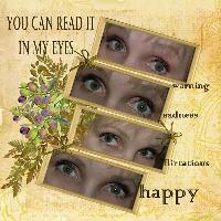 read it in my eyes