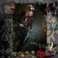 Steampunk ride.