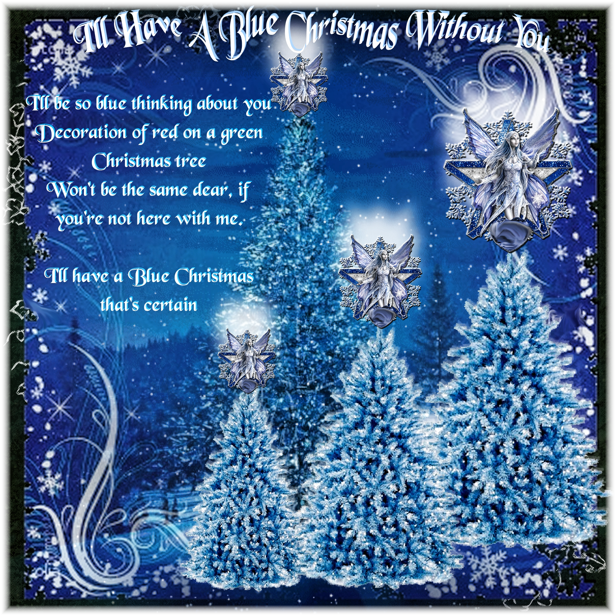 Christmas Without You.I Ll Have A Blue Christmas Without You Digital