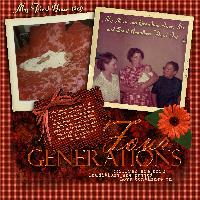 Book of Me - Pg 5 - 4 Generations