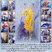 Seahorses - My Bathroom Mural
