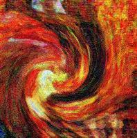 Autumn Swirl Background 4