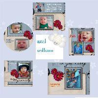 axel william my nephew  3 months