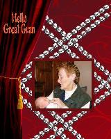Hello great gran