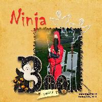 Ninja Halloween