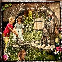Theres magic in our garden.....
