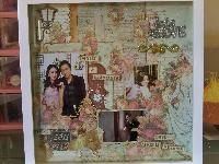 engagement scrap frame, made by order