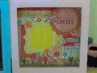 8' scrap frame...for boy and girl