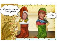Happy New Year  from 'Santa's Helpers'.