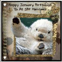 for SBF Members' January Birthdays