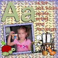 A is for Ashleigh