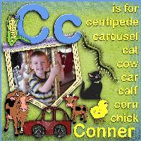 C is for Conner