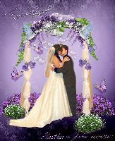 The Wedding Kiss...
