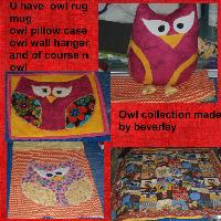 owl collection made by bev lol