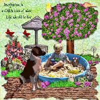 Imagination Running High For Colton...