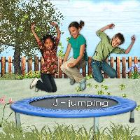 J for jumping