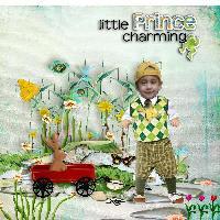 Tejvir, little prince charming
