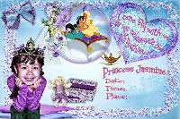 Princess Jasmine's Birthday Invitation...
