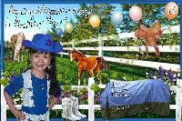 Cowgirl Jasmine BD Invitation...