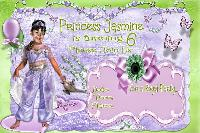 Royal Birthday Invitation For Jasmine...