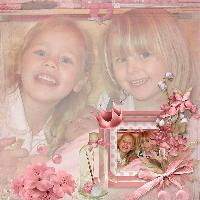 Pink...Megan & Summer