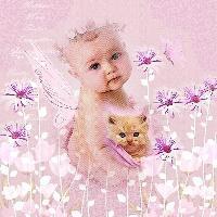 Sweet fairy in Pink