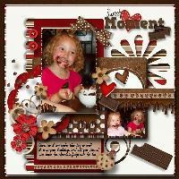 Chocolate face Lola.........