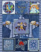 Blue denim dream quilt