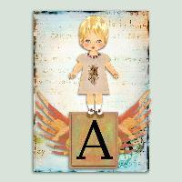Altered Art-Letter