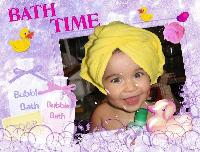 Valery's Bath Time