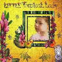 LITTLE TROPICAL GIRL