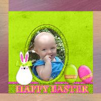 My 1st Easter- Happy Easter