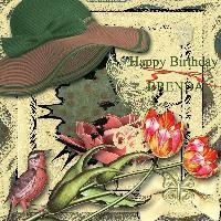 Happy Birthday Brenda (DitziB)