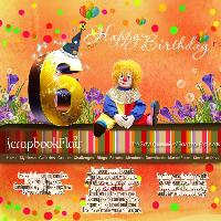 Scrapbook Birthday