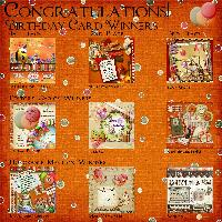 Scrapbook Flair Birthday Challenge Winners 2012