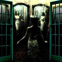 Beyond These Doors Step IntoThe hall Of Mirrors