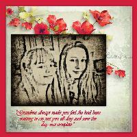 Sweet Granddaughters...