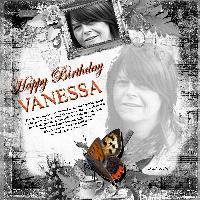 Happy 2012 Birthday Vanessa
