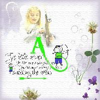 Letter A - Archer